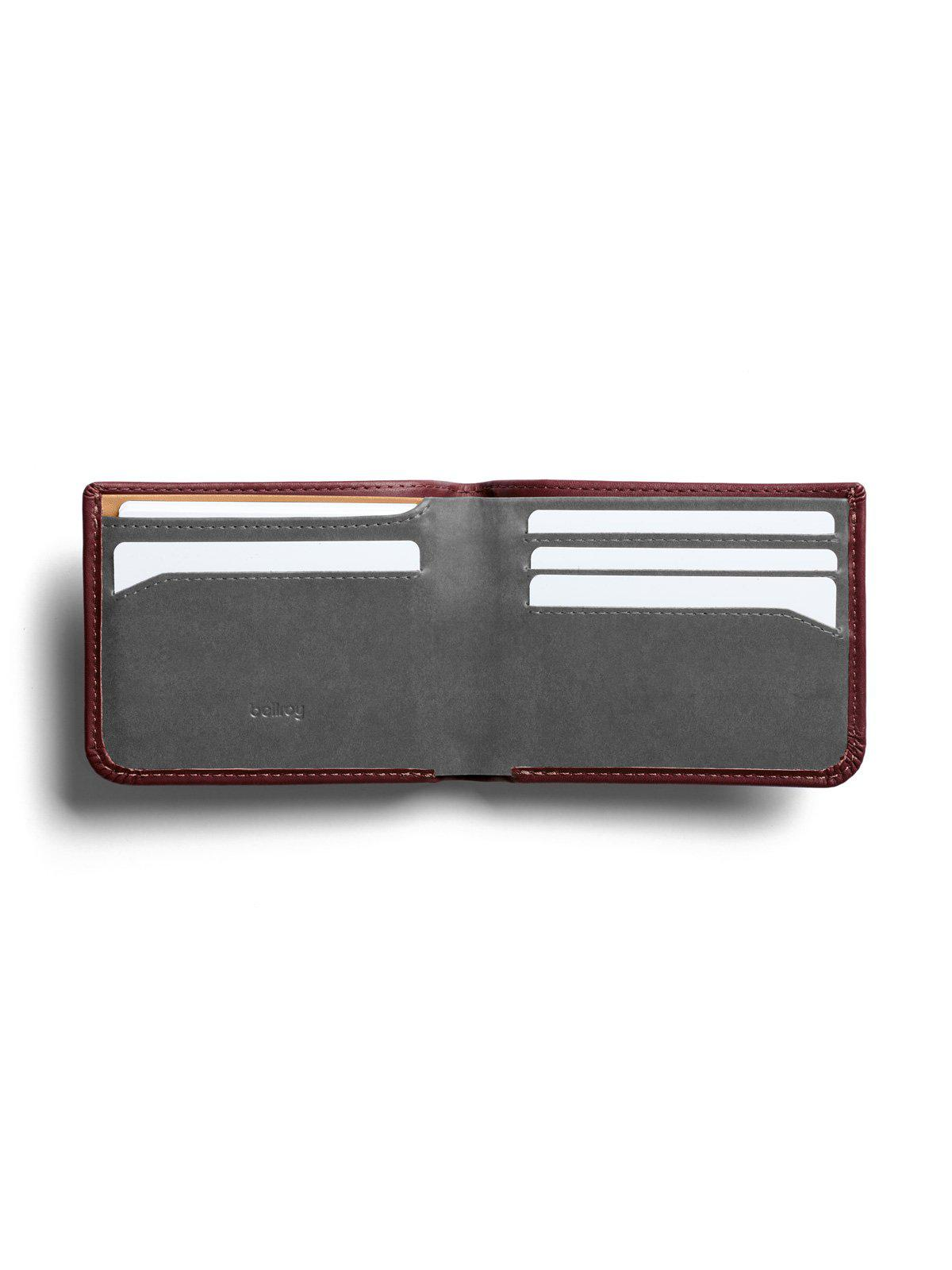 Bellroy Hide and Seek Wallet Wine RFID - MORE by Morello Indonesia