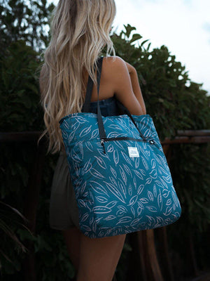 Matador Transit Packable Tote Bag Leaf Pattern - MORE by Morello Indonesia