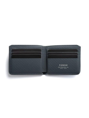 Pioneer Division Billfold Wallet 3PN Slate - MORE by Morello Indonesia