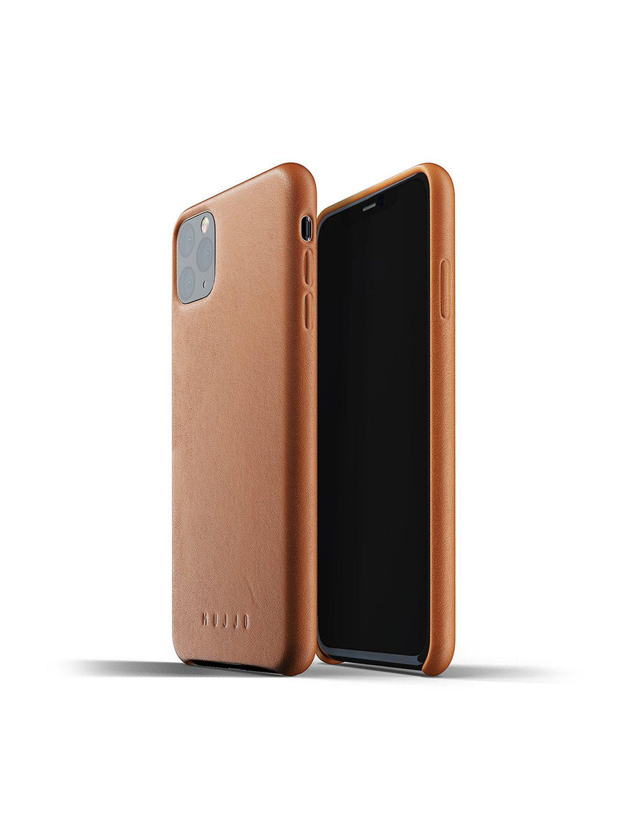 Mujjo Full Leather Case for iPhone 11 Pro Max Tan