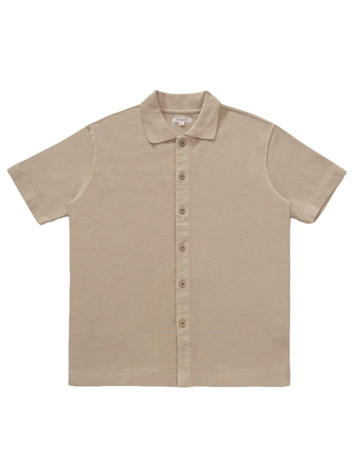 Lady White Co. Placket Polo Beige - MORE by Morello Indonesia