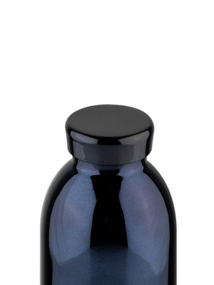 24Bottles Clima Bottle Black Radiance Chrome 500ml - MORE by Morello - Indonesia