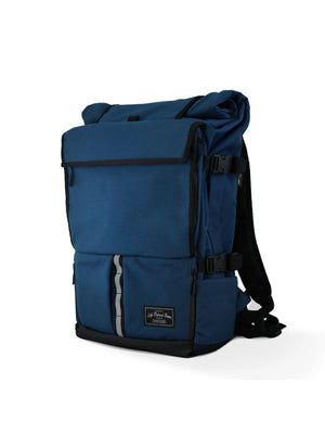 Life Behind Bars The Peloton Rolltop Backpack 30-42L Navy