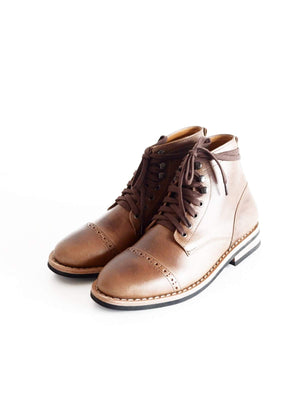 Chevalier Captoe Boots Natural Chromexcel