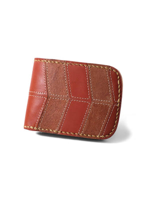 Voyej Vessel II Vestigial Shades Of Brown Short Wallet