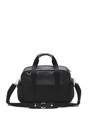 Qwstion Overnighter Black Leather - MORE by Morello Indonesia