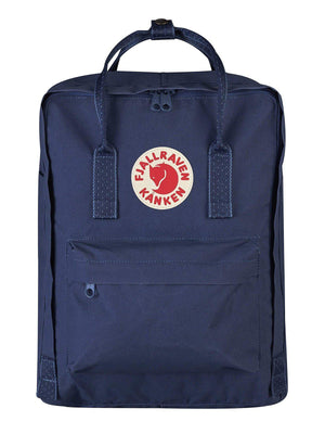 Fjallraven Kanken Classic Backpack Royal Blue Pinstripe Pattern - MORE by Morello - Indonesia