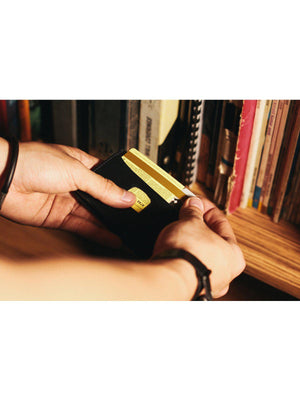 Voyej Vasa VII Black Card Wallet