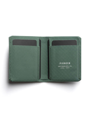 Pioneer Matter Bifold Wallet 3PN Evergreen - MORE by Morello Indonesia