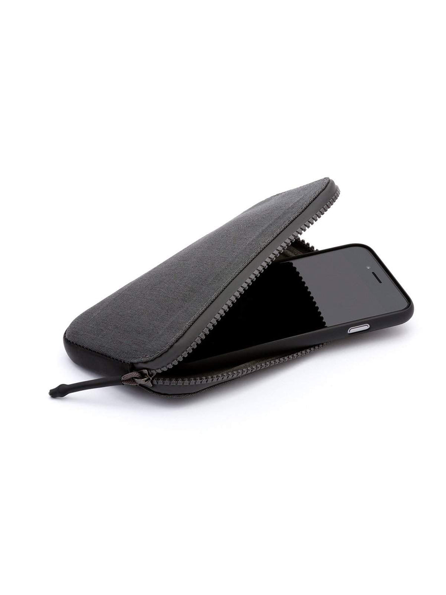 Bellroy All Conditions Phone Pocket Woven Charcoal - MORE by Morello Indonesia