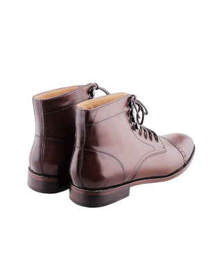 Heimdall Loki Cap Toe Brogue Brown - MORE by Morello - Indonesia