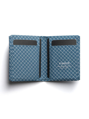 Pioneer Matter Bifold Wallet 10XD Ripstop Blue - MORE by Morello - Indonesia