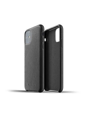 Mujjo Full Leather Case for iPhone 11 Black - MORE by Morello - Indonesia