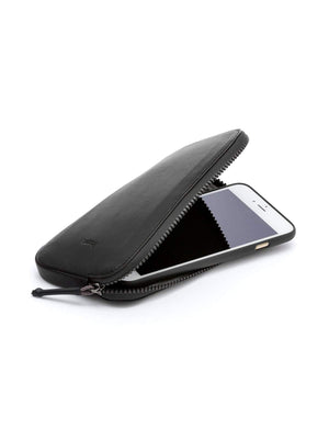 Bellroy All Conditions Phone Pocket Plus Leather Black - MORE by Morello - Indonesia
