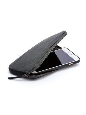Bellroy All Conditions Phone Pocket Plus Woven Charcoal - MORE by Morello Indonesia