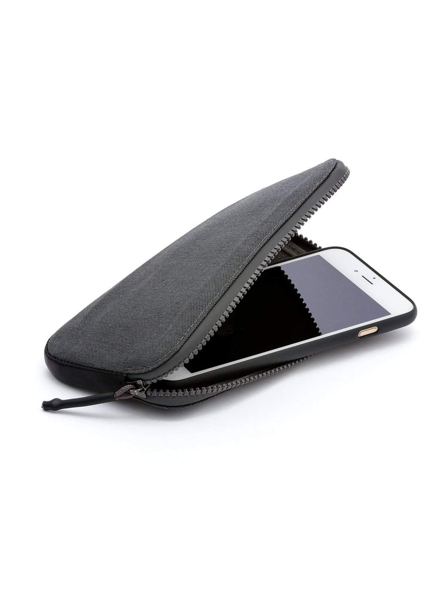 Bellroy All Conditions Phone Pocket Plus Woven Charcoal