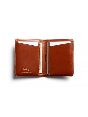 Bellroy Designers Edition Slim Sleeve Wallet Burnt Sienna - MORE by Morello Indonesia