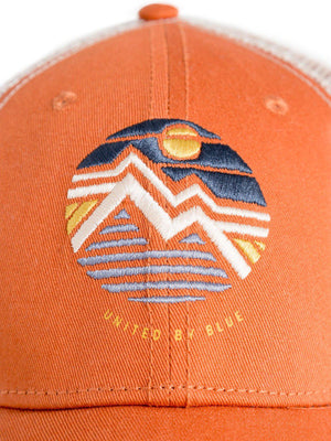 United by Blue Geo Mountain Trucker Hat Tawny - MORE by Morello Indonesia