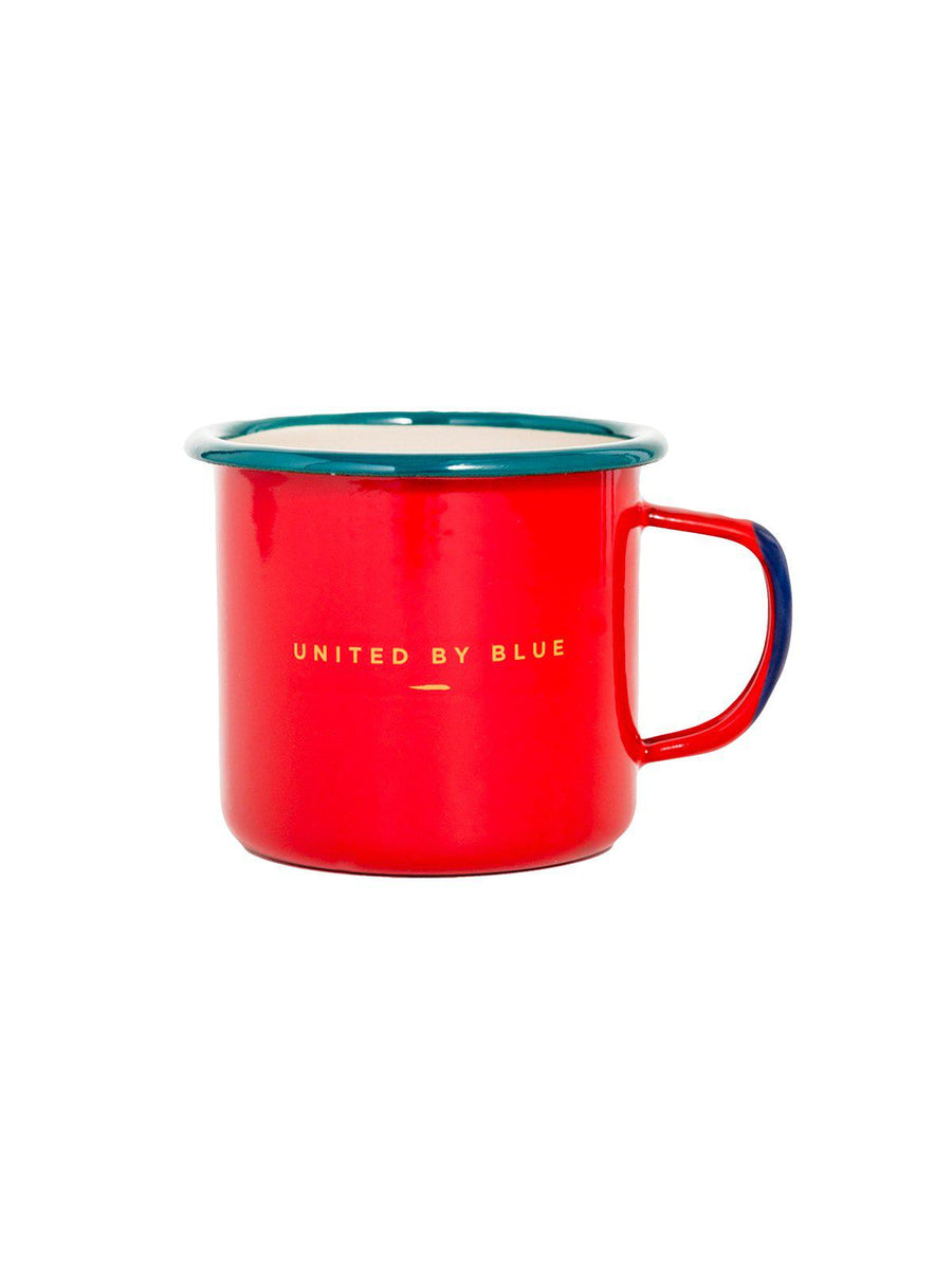 United by Blue Places You'll Go Enamel 12 oz Mug - MORE by Morello Indonesia