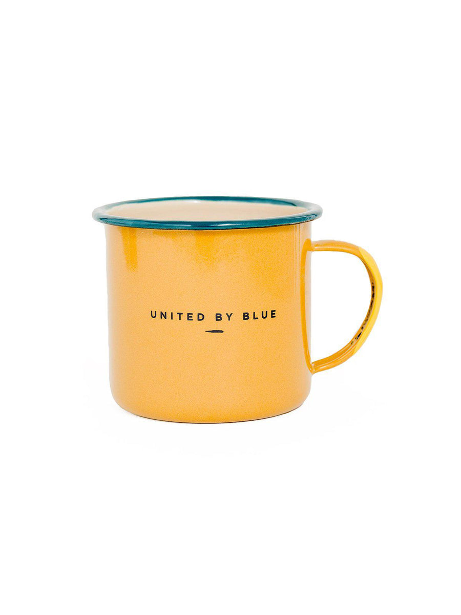 United by Blue Pack Up & Go Enamel 22 oz Mug - MORE by Morello Indonesia
