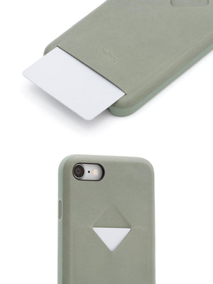 Bellroy Phone Case 1 Card iPhone 7 / 8 Eucalyptus - MORE by Morello Indonesia