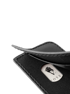 Voyej Vessel V Black Short Wallet