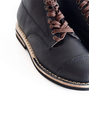 Chevalier Captoe Boots Secret Black