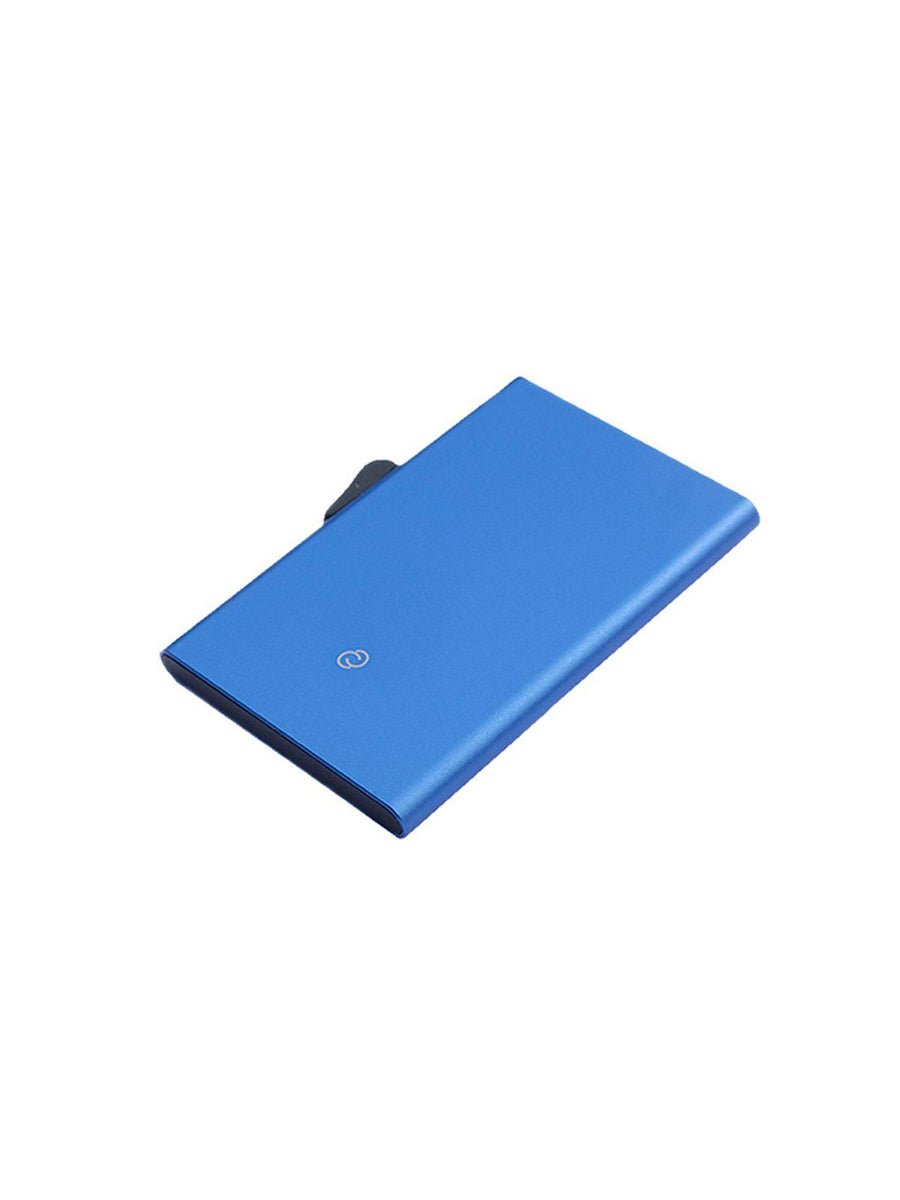 C-Secure Aluminium RFID Cardholder Dark Blue - MORE by Morello - Indonesia
