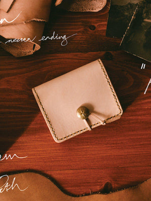 Voyej Auburn Natural Short Wallet - MORE by Morello - Indonesia