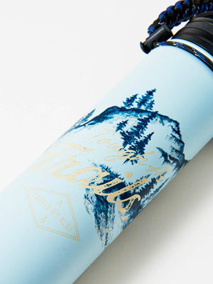 United by Blue 22oz Tough As Trails 22oz Insulated Steel Water Bottle Blue - MORE by Morello Indonesia