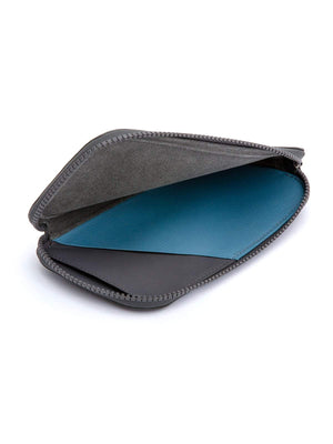 Bellroy All Conditions Phone Pocket Plus Leather Charcoal