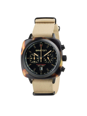 Briston Clubmaster Sport Acetate Chronograph Safari 42mm - MORE by Morello Indonesia