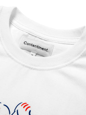 Contentment. Office Romance Illustrated T-Shirt - MORE by Morello Indonesia