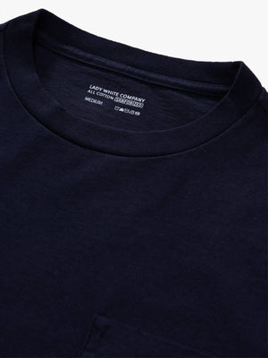 Lady White Co. Balta Pocket Tee Navy - MORE by Morello Indonesia