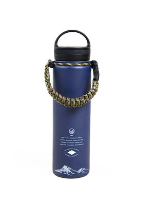 United by Blue 22oz Wild And Free 22oz Insulated Steel Water Bottle Navy - MORE by Morello - Indonesia