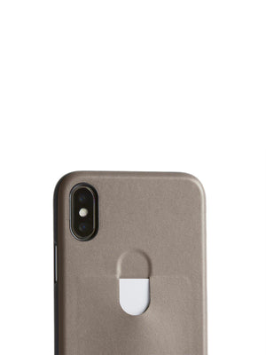 Bellroy Phone Case 1 Card iPhone X Stone - MORE by Morello Indonesia