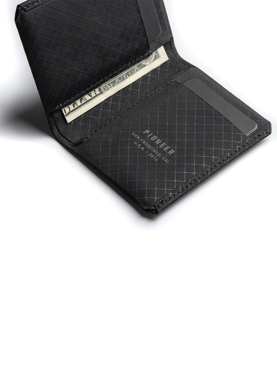 Pioneer Matter Bifold Wallet 10XD Ripstop Onyx - MORE by Morello - Indonesia