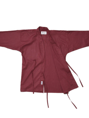 Jackhammer Ramie Samue Jacket Sangria - MORE by Morello Indonesia