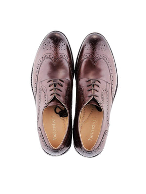 Heimdall Loki Wingtip Derby Brown - MORE by Morello Indonesia
