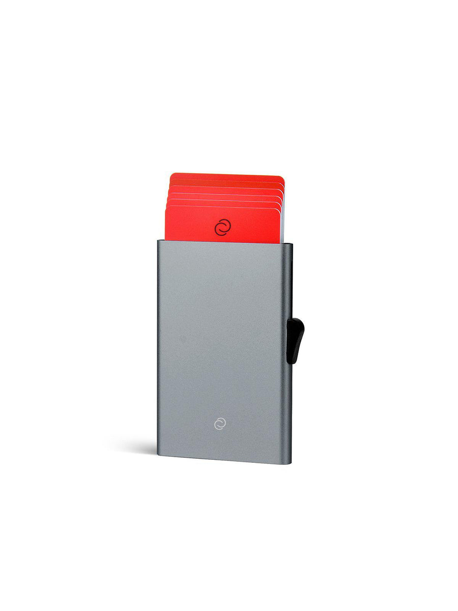 C-Secure Aluminium RFID Cardholder Grey - MORE by Morello - Indonesia