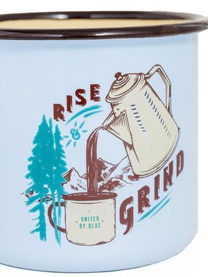 United by Blue Rise & Grind Enamel 22 oz Mug - MORE by Morello Indonesia