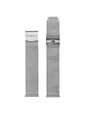 Briston Milanese Mesh Strap Silver for Clubmaster Classic/Vintage/Sport/Diver 20mm - MORE by Morello Indonesia
