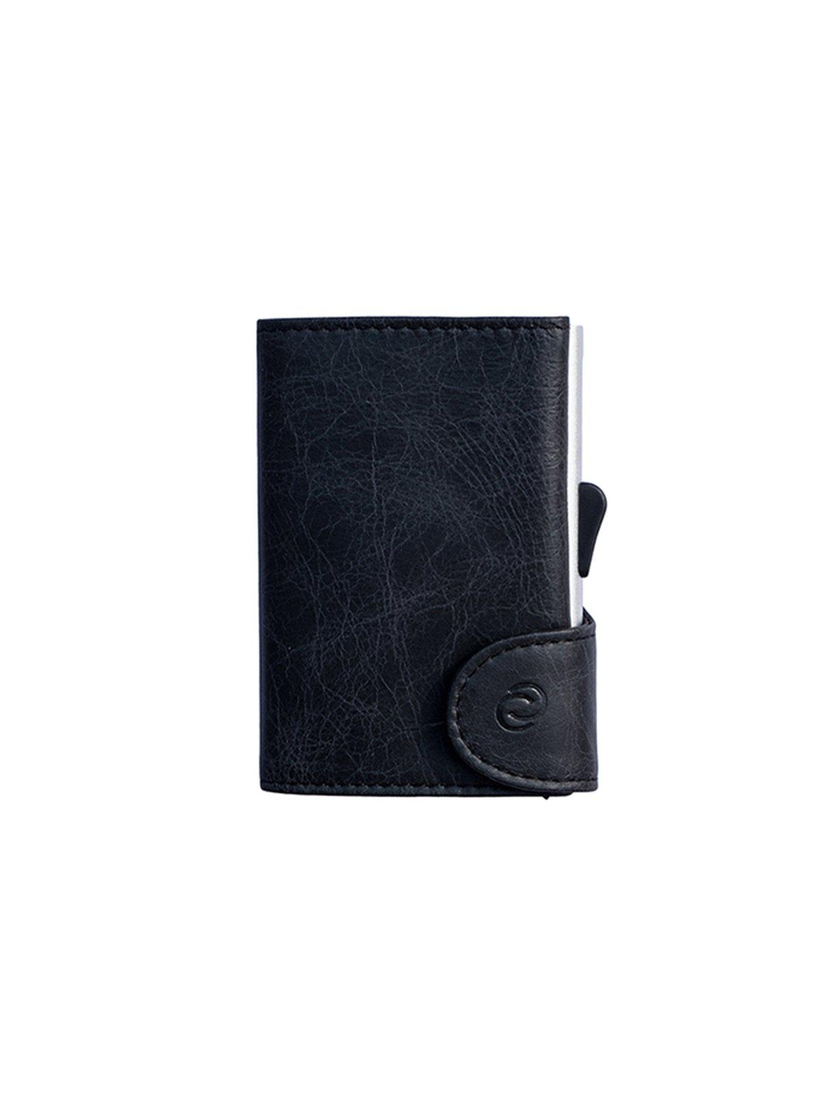 C-Secure Italian Leather RFID Wallet Blackwood - MORE by Morello Indonesia 6025db05bb