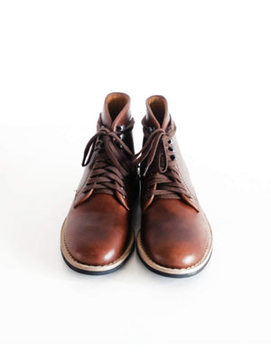 Chevalier Derby Boots Brown Chromexcel - MORE by Morello Indonesia