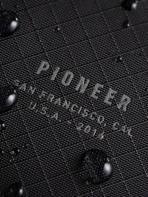 Pioneer Ion Bifold Wallet 10XD Ripstop Onyx