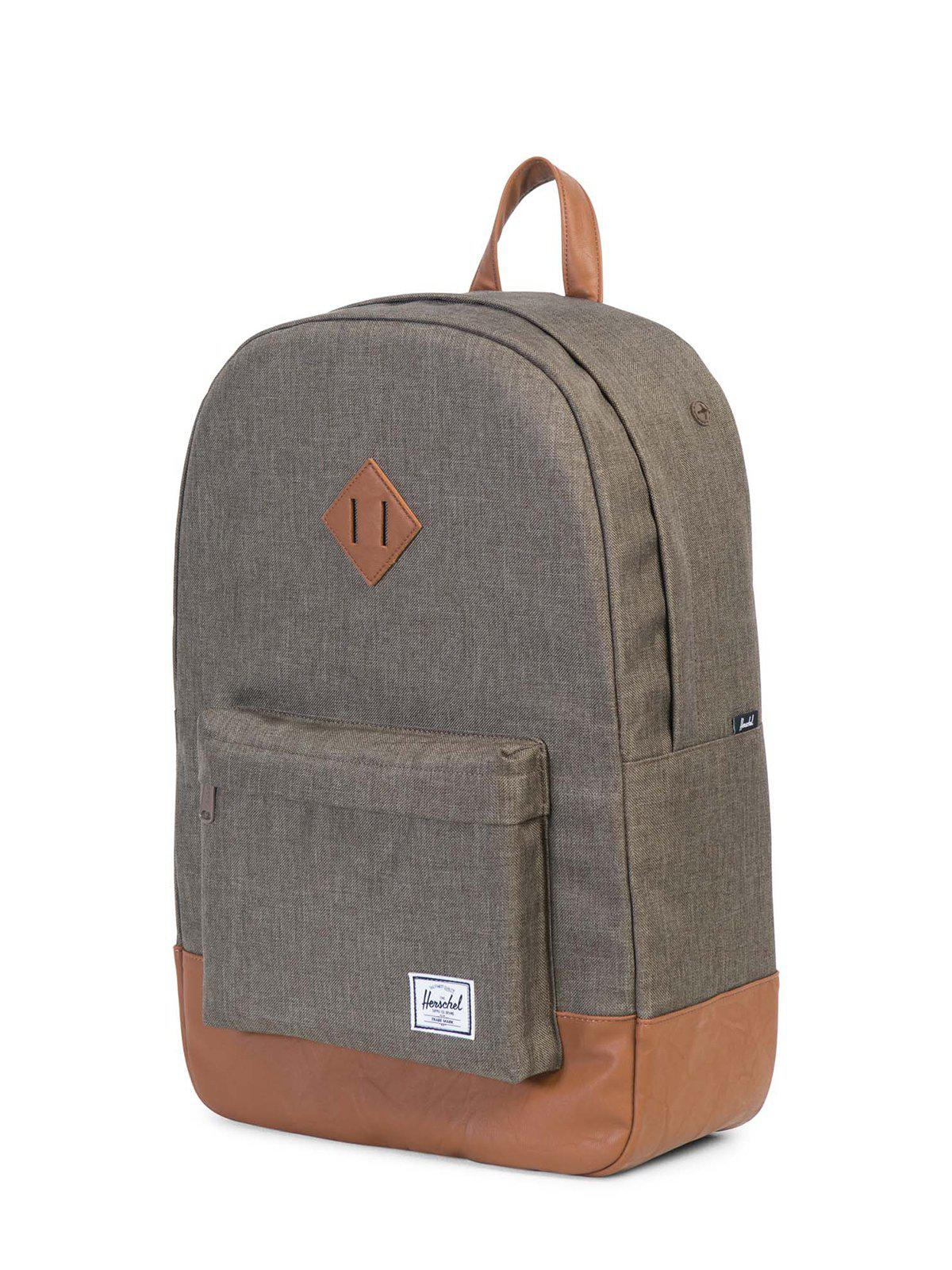 Herschel Heritage Backpack 600D Poly Canteen Crosshatch Tan 21.5L 478dfc7a2c641