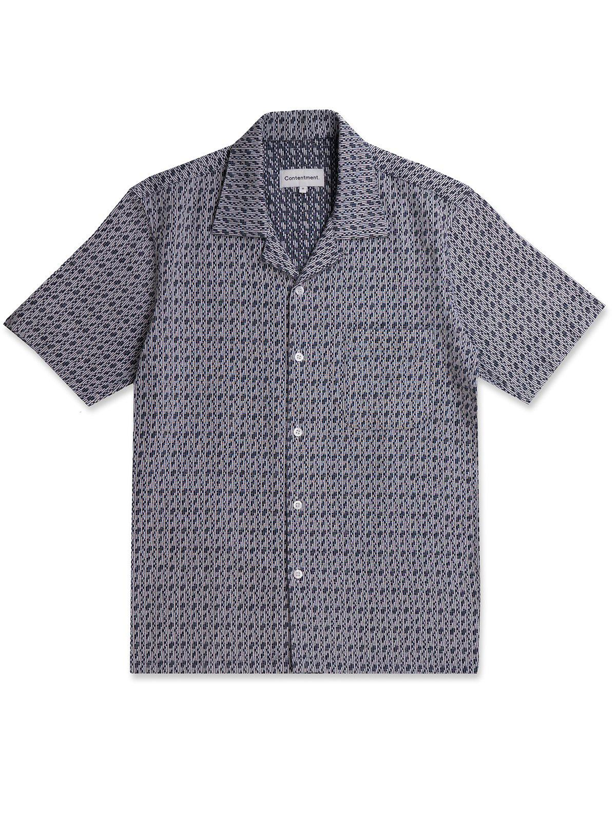 Contentment. Relaxed Textural Weave Shirt - MORE by Morello Indonesia