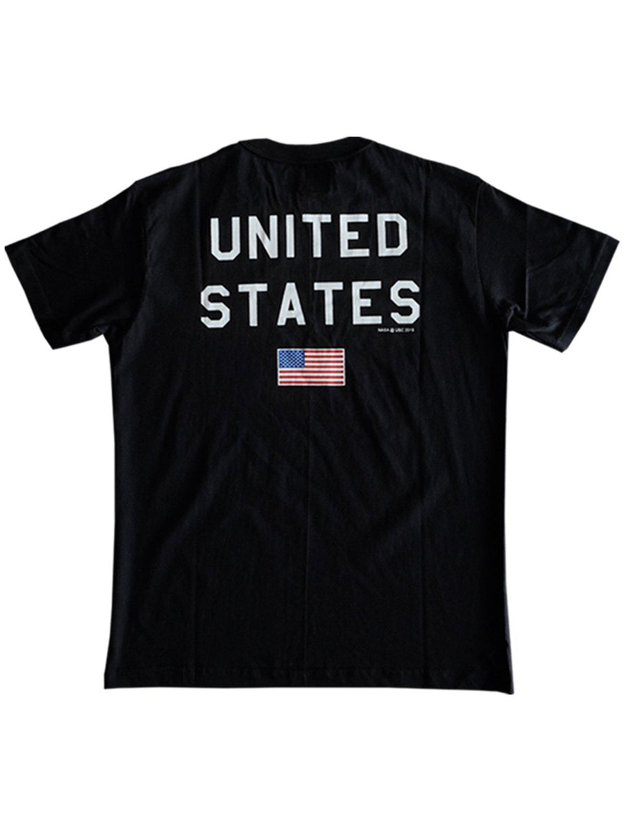 US Comp4ny NASA 2019 Tees Black