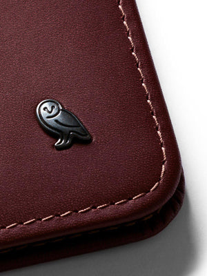 Bellroy Hide and Seek Wallet Wine RFID - MORE by Morello - Indonesia