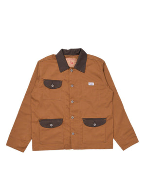 Jackhammer Buster Coverall Jacket Medallion Brown - MORE by Morello Indonesia